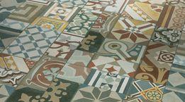 Vinyl Trendtime 5.50 Ornamentic Colour Mineralstruktur gefast