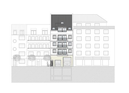 Wohn- und Geschäftshaus Stadtmitte